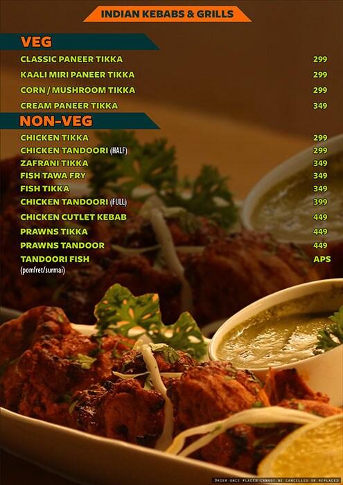 The Fusion Cuzine menu 9