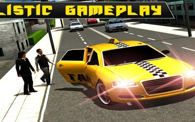 City Taxi Driver Simulator