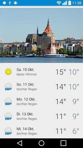 Rostock - Das Wetter