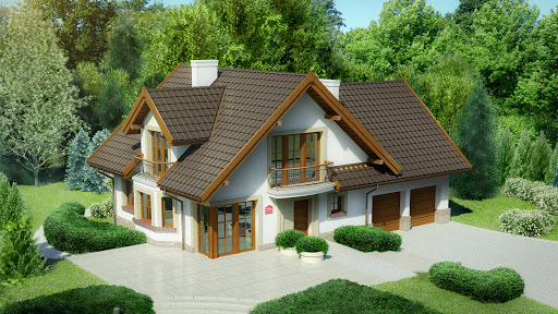 projekt Dom przy Cyprysowej 15 S2
