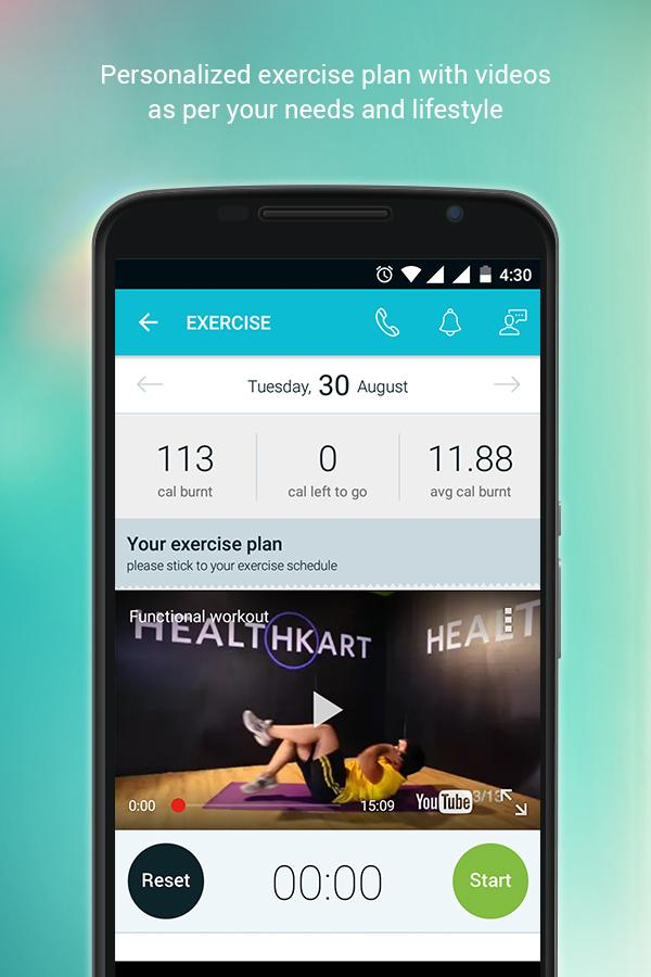 Weight Loss & Fitness Program- screenshot
