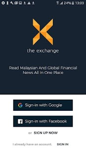 The Exchange Financial News- screenshot thumbnail