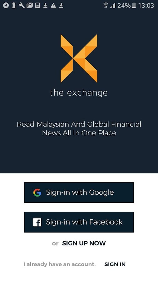The Exchange Financial News- screenshot
