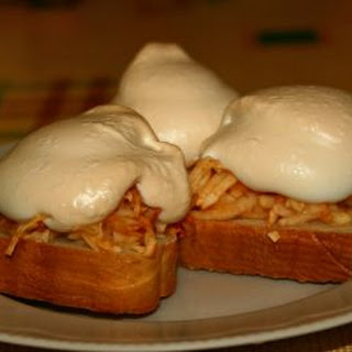 Sweet Sandwich With Apples