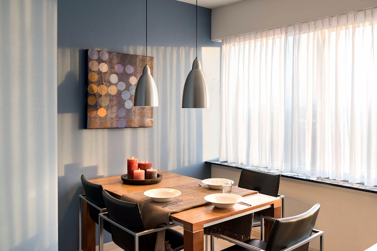 Dining space at Amstelveen apartment