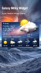 Local Weather Report Widget - náhled