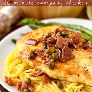 20 Minute Company Chicken