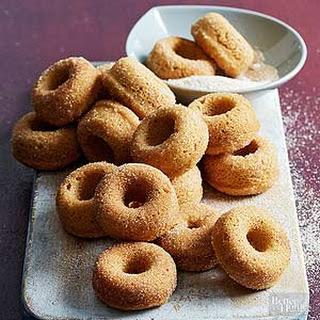 Mini Cinnamon-Sugar Donuts Recipe