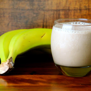 Irish Cream Espresso & Banana Smoothie.