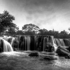 The Waterfall by Miko Adji - Landscapes Waterscapes ( bekasi, parigi, 2015, indonesia, waterfall )