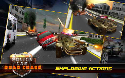 Police car road chase game apk free download for android for Chaise game free download