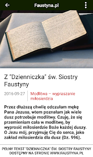 Faustyna.pl- screenshot thumbnail