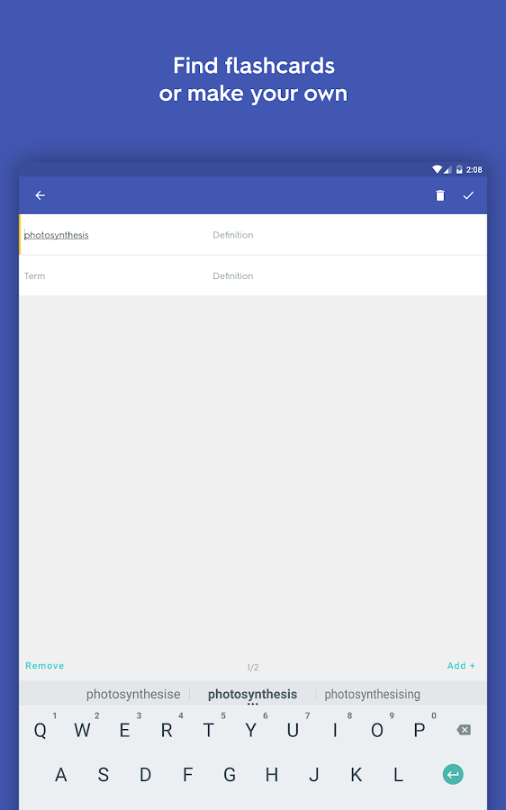 Quizlet Learn With Flashcards- screenshot