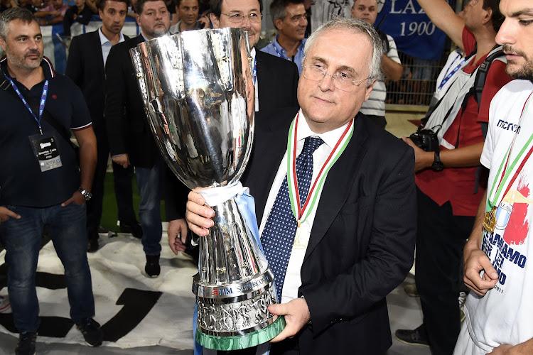 Le président de la Lazio se positionne sur les chants racistes dont Romelu Lukaku a aussi été victime