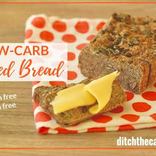 Low-Carb 3 Seed Bread.