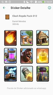 Stickers Clash Royale - WAStickerApps Screenshot