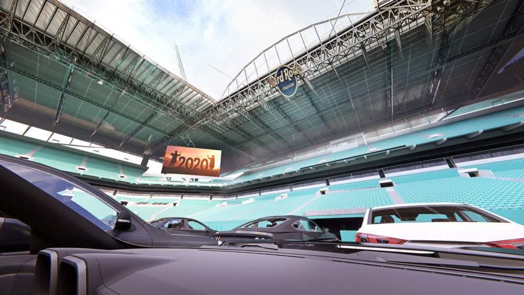 Miami Dolphins convertirá el Hard Rock Stadium en un autocine 2