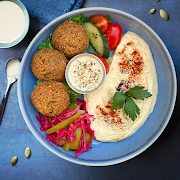 Hummus Falafel Bowl