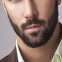 beard trim styles icon