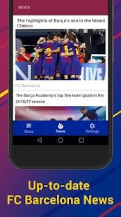 FC Barcelona Official Keyboard - náhled