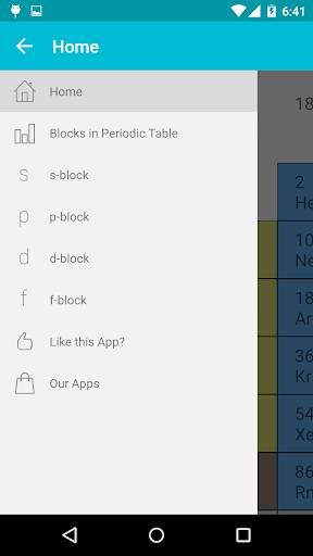 periodic table screenshot 1 periodic table screenshot 2