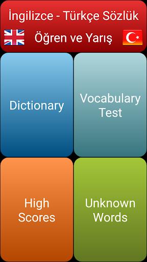 Eng-Tur Kelime Bilgisi Testi