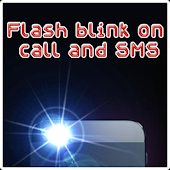 flash blink on call and sms