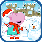 Funny Snowball Battle: Winter Games icon