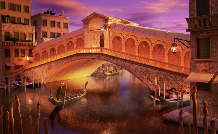Мост Реальто в Венеция