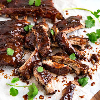 Sweet and Sour Sticky Ribs.