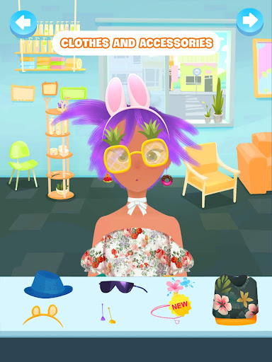 Hair salon games screenshot 7