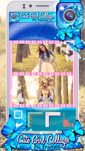 可愛的圖片照片編輯程序相框