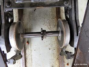 Photo: Alco PA front axle with chain removed.    HALS Work Day 2015-0411 RPW