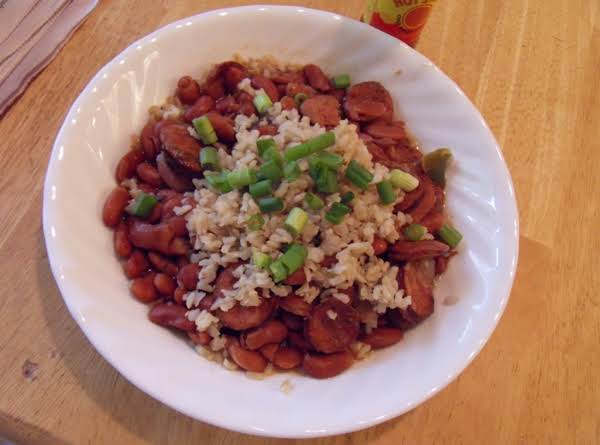 Stovetop Red Beans And Rice Recipe