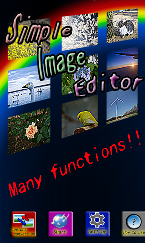 Скриншот Фото, редактор изображений