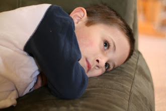 Photo: Reed, zoned watching a show
