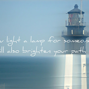 Lamp by Robert George - Typography Quotes & Sentences (  )