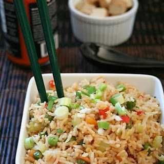 Vegetable Fried Rice (Indo Chinese) by DK on Feb 14, 2013.