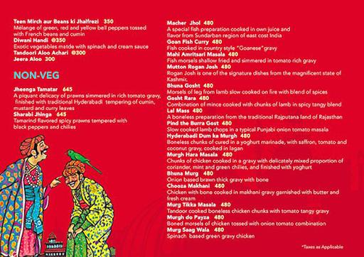Urban Turban - The Metropolitan Club menu 5