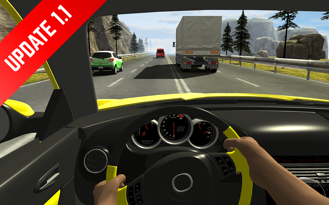 Screenshots of Racing in Car for iPhone