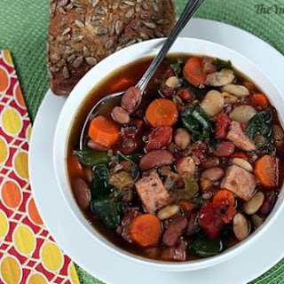Slow Cooker 15 Bean Soup Recipe