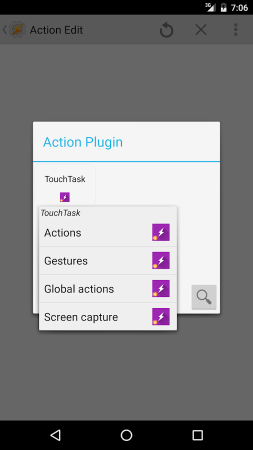 TouchTask- screenshot