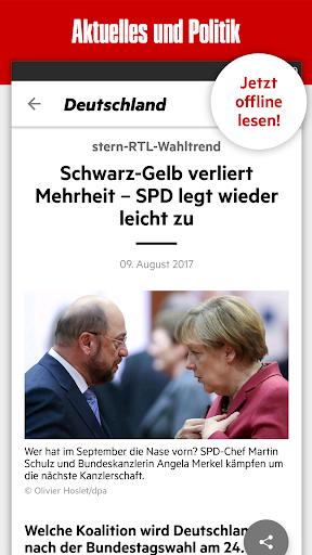 stern - Aktuelle Nachrichten 7.1.70 screenshots 1