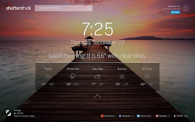 Shutterstock Tab