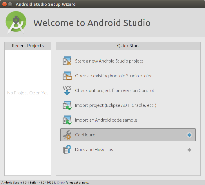 Creating Android studio desktop icon