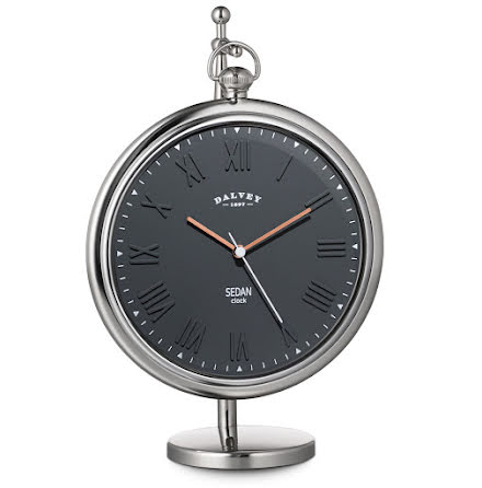 Dalvey Sedan Clock Grey