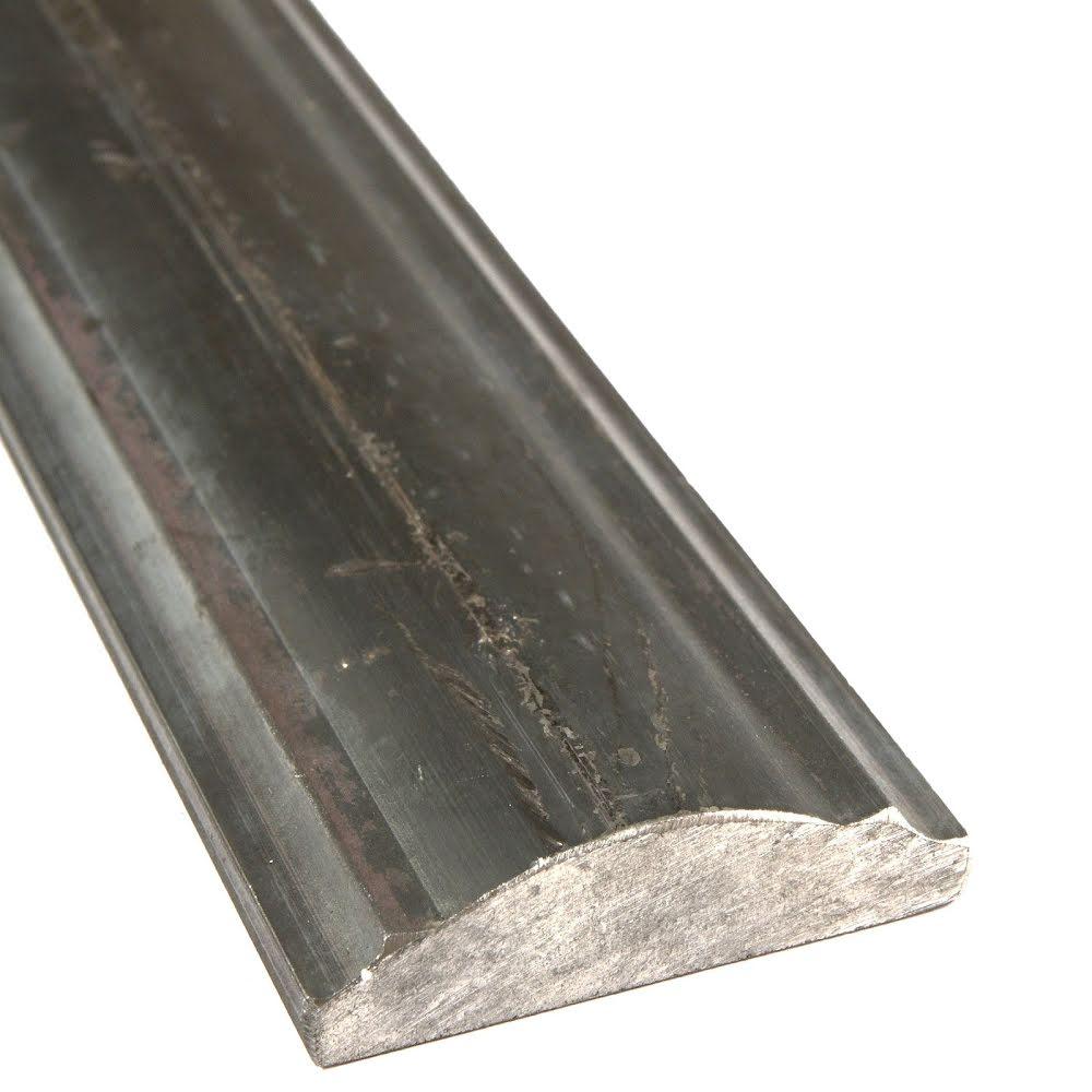 Ledstång i massivt stål