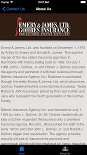 Emery & James Insurance- screenshot thumbnail