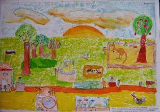Photo: Рогозин Дима. 12 лет. В зоопарке. Студ. Натальи Ланге. Израиль. г. Беэр-Шева