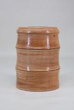 """Photo: Paul Wodiska 5"""" x 3"""" bud vase [maple, purpleheart]"""